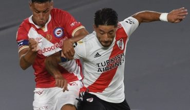 With a goal over the finale, Argentinos Juniors surprised and beat River