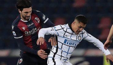 Alexis fue desequilibrante pese a jugar pocos minutos en triunfo del Inter sobre Bologna