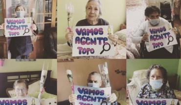 """Ancianos actores del hogar donde se filmó """"Agente Topo"""" apoyaron al documental"""