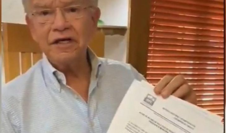 Andrés Granier se registra como candidata del PRI-PAN por la alcaldía de Tabasco