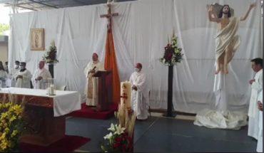 Ante ola de violencia en Apatzingán, Iglesia interviene con acto religioso