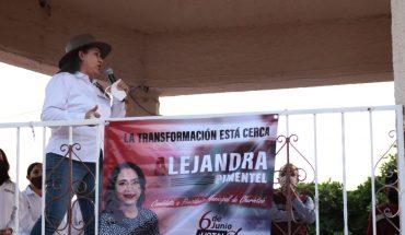 Apuesta Alejandra Pimentel por una administración eficiente y cercana al pueblo para Churintzio