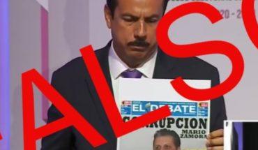Arnulfo Mendoza exhibe fake news durante debate en Sinaloa