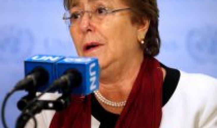 """Bachelet tras condena en caso Floyd: """"La impunidad de violaciones de los derechos humanos por parte de agentes de seguridad debe terminar"""""""