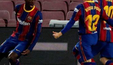 Barcelona vence al Valladolid y se pone a un punto del líder