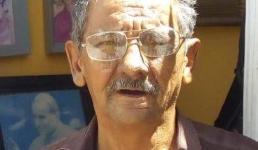 Buscan a Lorenzo, adulto mayor desaparecido en Culiacán