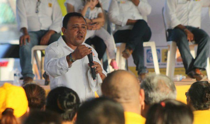 Candidato a la alcaldía en Veracruz está detenido, confirma el PRD