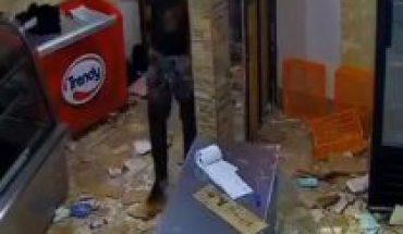 Carabineros detuvo a seis personas que saquearon una panadería el año pasado en Melipilla gracias a funa en redes sociales