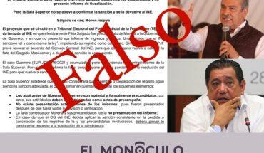 Circula falsa resolución sobre los casos Morón y Macedonio: El Monóculo