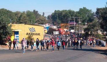 Comunidades indígenas cierran carreteras para exigir ayuda para apagar incendios provocados