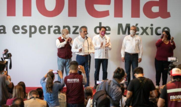 Con Alfredo Ramírez Bedolla, la 4T va a llegar a Michoacán: Raúl Morón