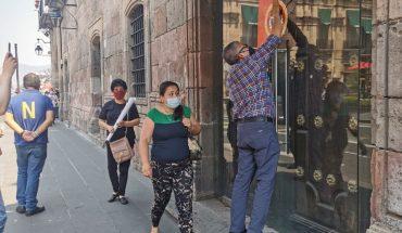 Con hotel Virrey de Mendoza cerrado, trabajadores estallan huelga