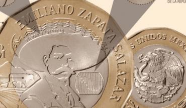 Conoce la nueva moneda de 20 pesos que conmemora a Zapata