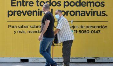 Coronavirus en Argentina: 16.267 nuevos casos y 65 muertes