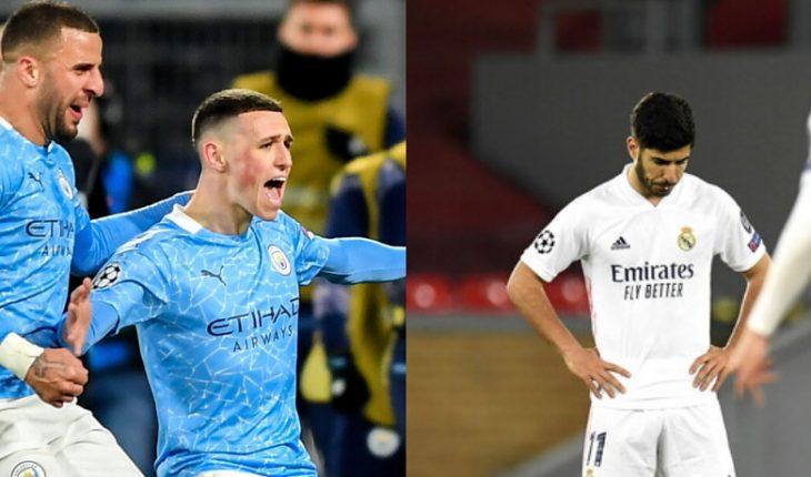 El Real Madrid y el Manchester City avanzaron a semifinales de Champions