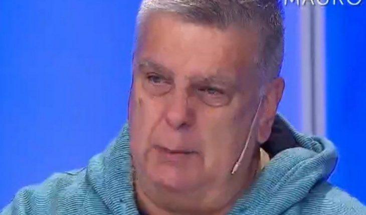 El desconsuelo de Luis Ventura por el fallecimiento de Mauro Viale