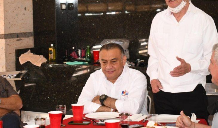 Empresarios de Los Mochis se reúnen con Marcos Osuna