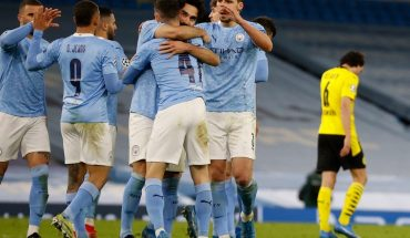 En el final, Manchester City rescató un valioso triunfo ante Borussia Dortmund
