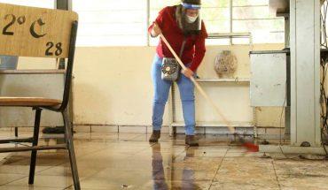 Escuelas privadas listas para regreso presencial, escuelas públicas en trabajo de limpieza; aún sin autorización