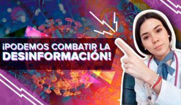 Especialista mexicana combate con TikTok desinformación sobre COVID y otros mitos de Salud