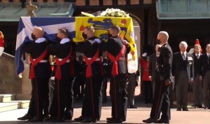 [FOTOS] La familia real británica despide en Windsor al duque de Edimburgo