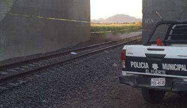 """Ferrocarril arrolla a """"trampa"""" y queda decapitado en Sinaloa"""