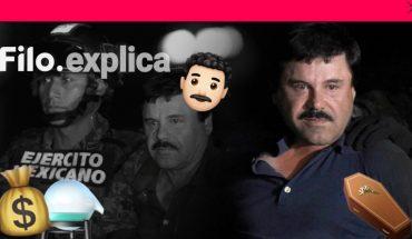 Filo.explica│El Chapo Guzmán, un narco de película