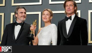 Joaquin Phoenix y Brad Pitt entre los presentadores