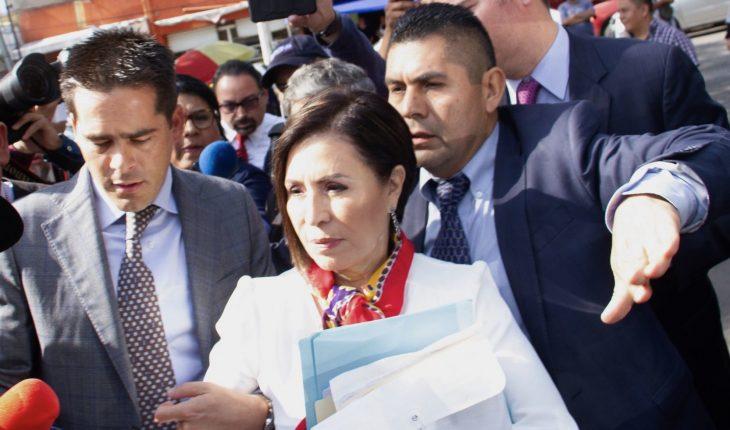 Juez frena apertura de juicio contra Robles por La Estafa Maestra
