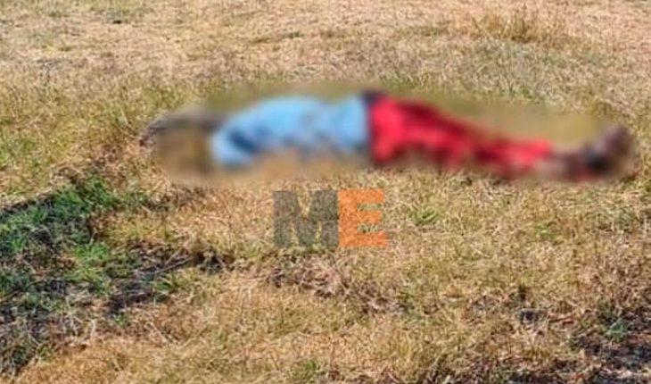 Localizan cadáver lapidado en predio de la colonia La Libertad en Zamora, Michoacán