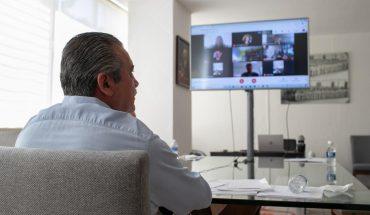 Mantuvo Raúl Morón audiencia ante magistrados del TEPJF para resolución