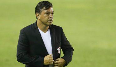 """Marcelo Gallardo: """"No estoy preocupado por el funcionamiento, sólo nos faltó el gol"""""""