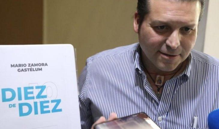 Mario Zamora hace pública la 10 de 10