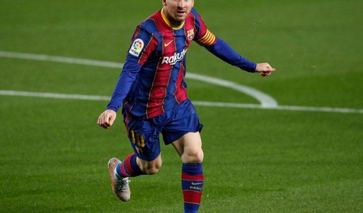 Messi brilló con dos goles y una asistencia en la goleada de Barcelona