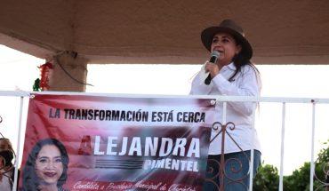 Mi campaña por Churintzio es de propuestas y no de descalificaciones: Alejandra Pimentel