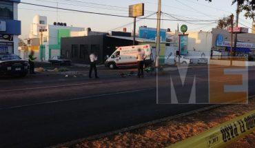 Muere motociclista tras ser embestido por un tráiler en Morelia