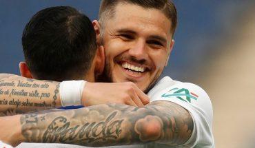 PSG, con acento rosarino: tres de Icardi y asistencia de rabona de Di María