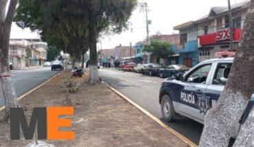 Pareja grave tras ser baleada en una tienda de abarrotes de la 20 de Noviembre en Zamora