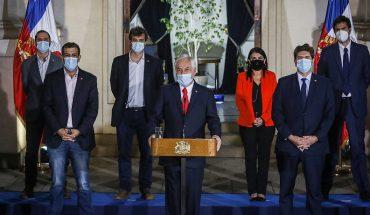 Piñera anuncia que el Gobierno enviará un proyecto alternativo para el tercer retiro del 10% de las AFP