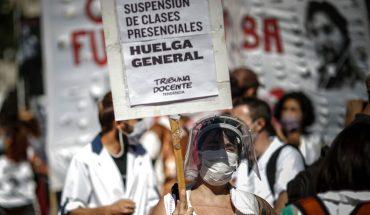 """Presidente argentino ratificó cierre de escuelas en Buenos Aires y advirtió: """"A mí la rebelión, no"""""""