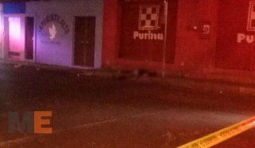 Privan de la vida a hombre a balazos en Uruapan, Michoacán