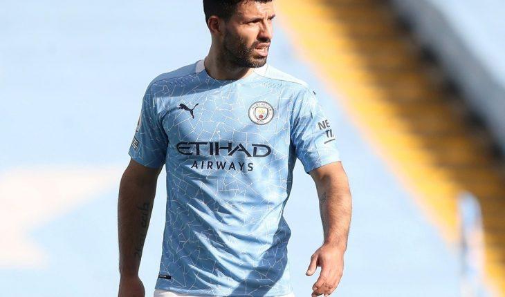 Se filtró la camiseta de Manchester City para la despedida de Sergio Agüero