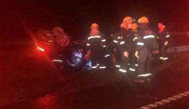 """Sergio Berni: """"Todo indica que el accidente fue por acumulación de agua en la ruta"""""""