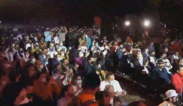 Sin respetar la Sana Distancia arranca campaña de Carlos Herrera de la coalición PRI-PRD-PAN