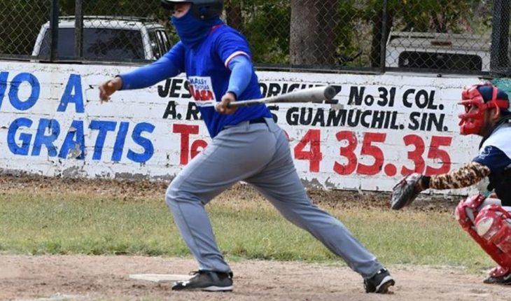 Suenan losbatazos en la liga de BeisbolPrincipiantes