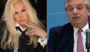 Susana Giménez publicó un audio fake del Presidente y Fernández le contestó