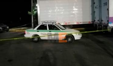 Taxista es baleado en intento de robo en Uruapan, Michoacán