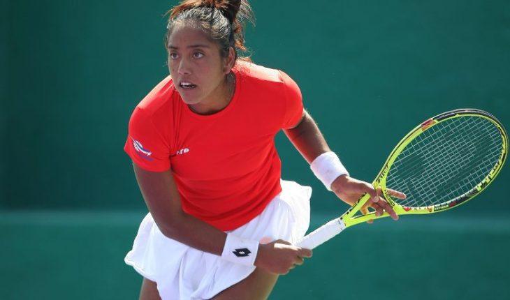Tenis: Daniela Seguel sorprende y avanza a octavos de final en WTA 250 de Bogotá