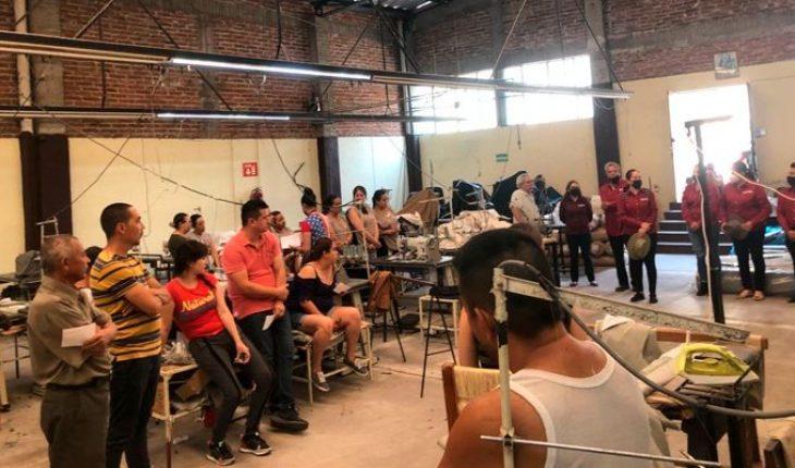 Trabajadores de la maquiladora Fargo arropan a Alejandra Pimentel en contienda por Churintzio