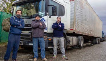 Una protesta de camioneros mantiene aislada a Tierra del Fuego